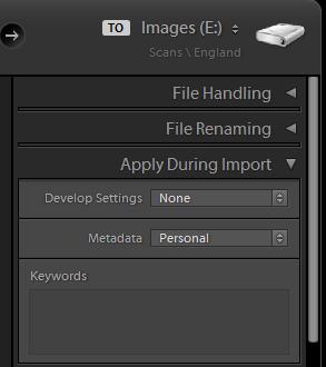 Image result for lightroom import develop preset